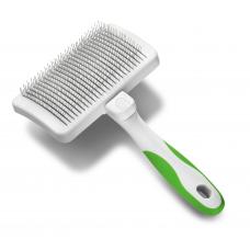 Пуходёрка с функцией самоочистки зелёная